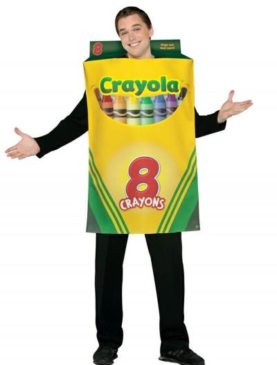 Adult Crayon Box Costume, halloween costume (Adult Crayon Box Costume)