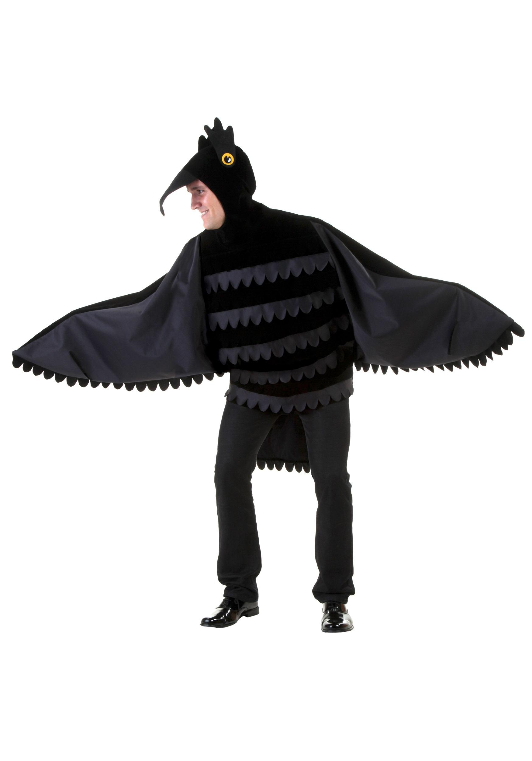 Костюм вороны своими руками простой