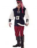 Adult Cutthroat Pirate Costume, halloween costume (Adult Cutthroat Pirate Costume)