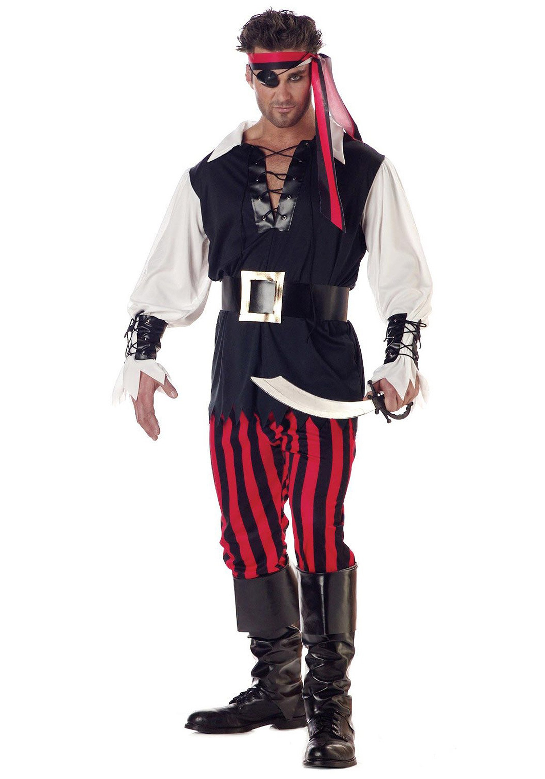 Adult Cutthroat Pirate Costume  sc 1 st  Halloween Costumes : womens halloween pirate costumes  - Germanpascual.Com