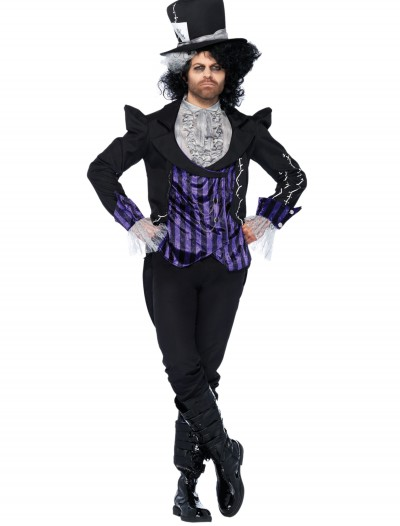 Adult Dark Mad Hatter Costume, halloween costume (Adult Dark Mad Hatter Costume)