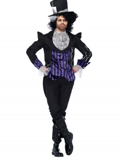 Adult Dark Mad Hatter Costume, halloween costume (Adult Dark Mad Hatter Costume)