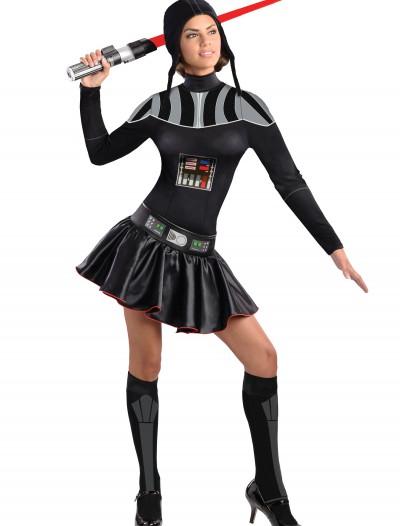 Adult Darth Vader Dress Costume, halloween costume (Adult Darth Vader Dress Costume)