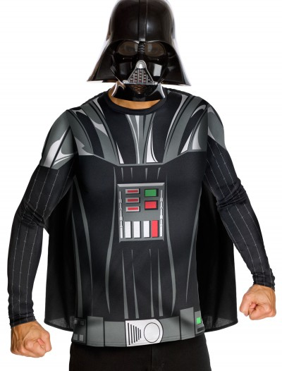 Adult Darth Vader Top and Mask, halloween costume (Adult Darth Vader Top and Mask)