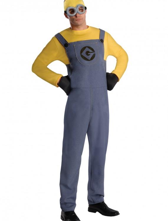 Adult Dave Minion Costume, halloween costume (Adult Dave Minion Costume)