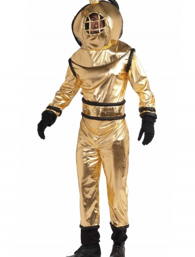 Adult Deep Sea Diver Costume, halloween costume (Adult Deep Sea Diver Costume)
