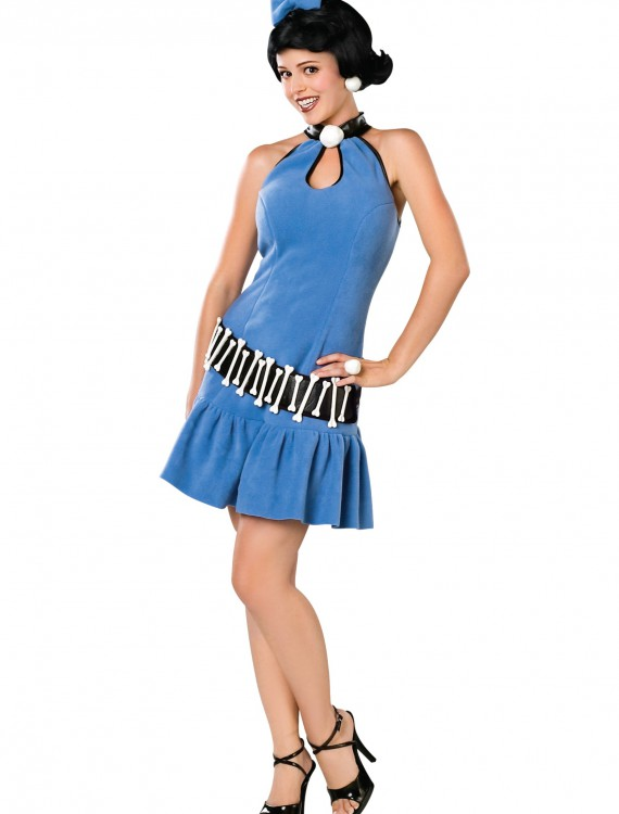Adult Deluxe Betty Rubble Costume, halloween costume (Adult Deluxe Betty Rubble Costume)
