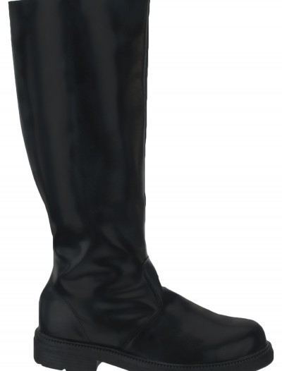 Adult Deluxe Black Boots, halloween costume (Adult Deluxe Black Boots)