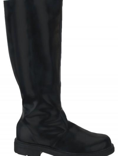 Adult Deluxe Black Boots, halloween costume (Adult Deluxe Black Boots)