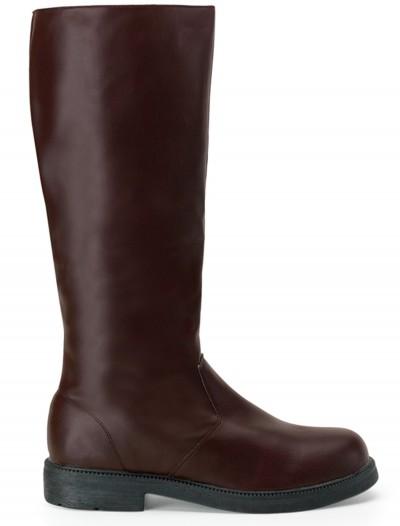 Adult Deluxe Brown Boots, halloween costume (Adult Deluxe Brown Boots)