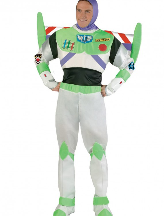 Adult Deluxe Buzz Lightyear Costume, halloween costume (Adult Deluxe Buzz Lightyear Costume)