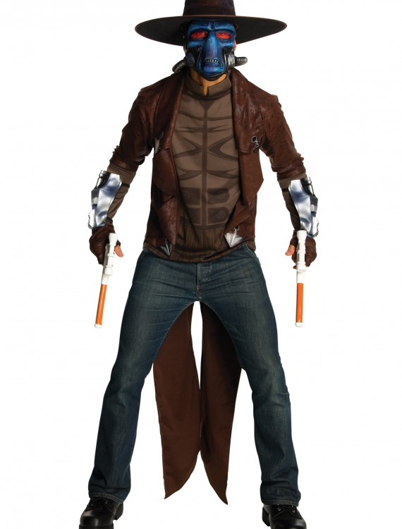 Adult Deluxe Cad Bane Costume, halloween costume (Adult Deluxe Cad Bane Costume)