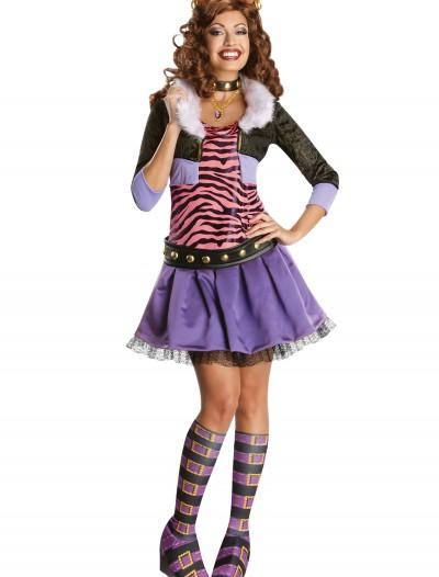 Adult Deluxe Clawdeen Costume, halloween costume (Adult Deluxe Clawdeen Costume)
