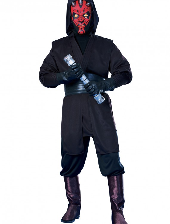 Adult Deluxe Darth Maul Costume, halloween costume (Adult Deluxe Darth Maul Costume)