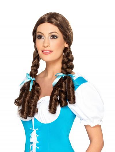 Adult Deluxe Kansas Girl Wig, halloween costume (Adult Deluxe Kansas Girl Wig)