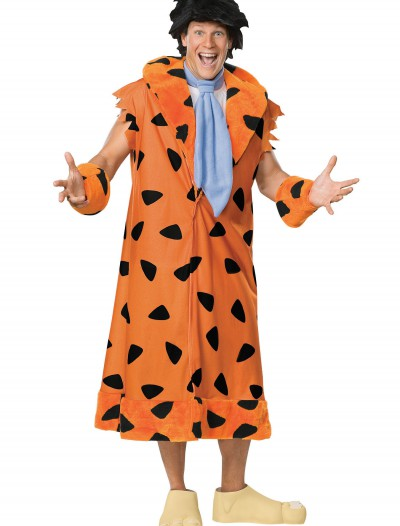 Adult Deluxe Fred Flintstone Costume, halloween costume (Adult Deluxe Fred Flintstone Costume)