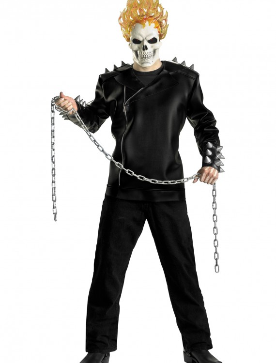 Adult Deluxe Ghost Rider Costume, halloween costume (Adult Deluxe Ghost Rider Costume)