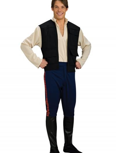 Adult Deluxe Han Solo Costume, halloween costume (Adult Deluxe Han Solo Costume)