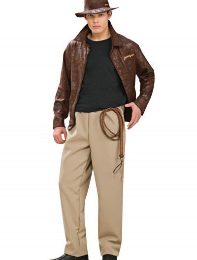 Adult Deluxe Indiana Jones Costume, halloween costume (Adult Deluxe Indiana Jones Costume)