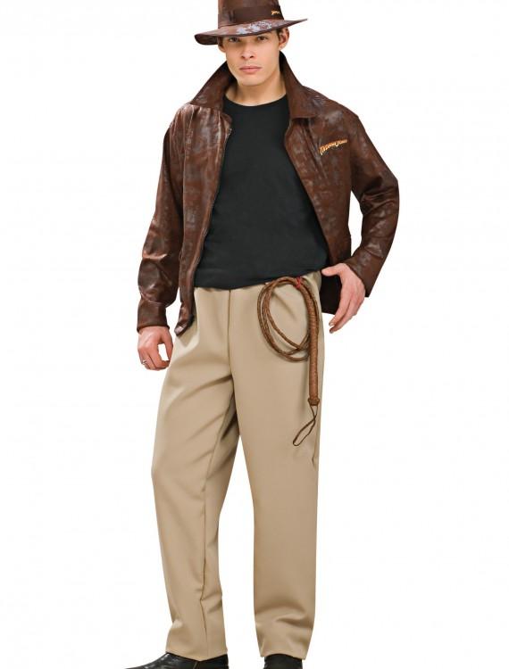 Adult Deluxe Indiana Jones Costume, halloween costume (Adult Deluxe Indiana Jones Costume)