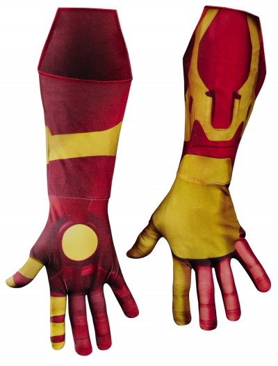 Adult Deluxe Iron Man Mark 42 Gloves, halloween costume (Adult Deluxe Iron Man Mark 42 Gloves)