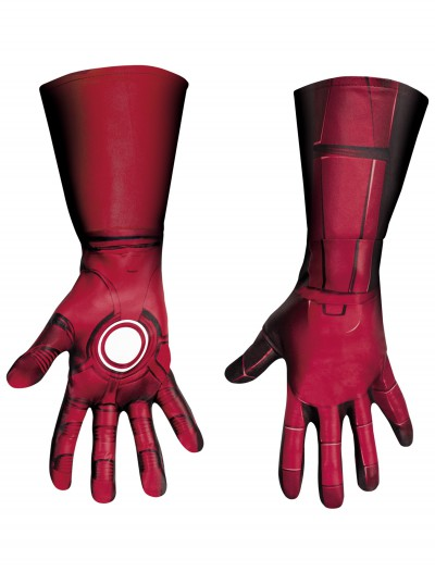 Adult Deluxe Iron Man Mark VII Gloves, halloween costume (Adult Deluxe Iron Man Mark VII Gloves)