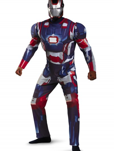 Adult Deluxe Iron Patriot Costume, halloween costume (Adult Deluxe Iron Patriot Costume)