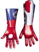 Adult Deluxe Iron Patriot Gloves, halloween costume (Adult Deluxe Iron Patriot Gloves)