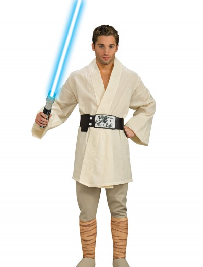 Adult Deluxe Luke Skywalker Costume, halloween costume (Adult Deluxe Luke Skywalker Costume)