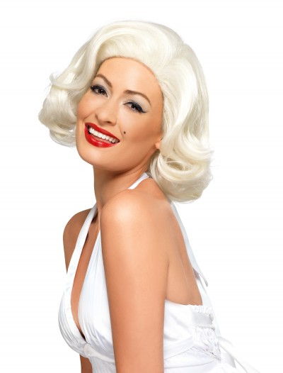 Adult Deluxe Marilyn Monroe Wig, halloween costume (Adult Deluxe Marilyn Monroe Wig)
