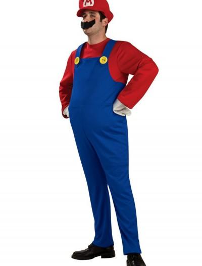 Adult Deluxe Mario Costume, halloween costume (Adult Deluxe Mario Costume)