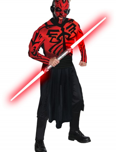 Adult Deluxe Muscle Chest Darth Maul Costume, halloween costume (Adult Deluxe Muscle Chest Darth Maul Costume)