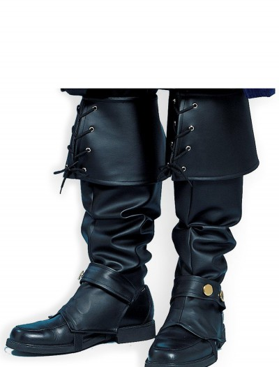 Adult Deluxe Pirate Boot Tops, halloween costume (Adult Deluxe Pirate Boot Tops)