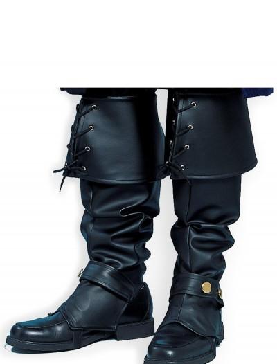 Adult Deluxe Pirate Boot Tops, halloween costume (Adult Deluxe Pirate Boot Tops)