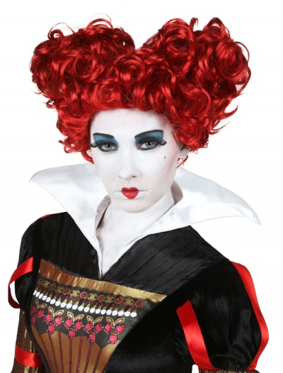 Adult Deluxe Red Queen Wig, halloween costume (Adult Deluxe Red Queen Wig)