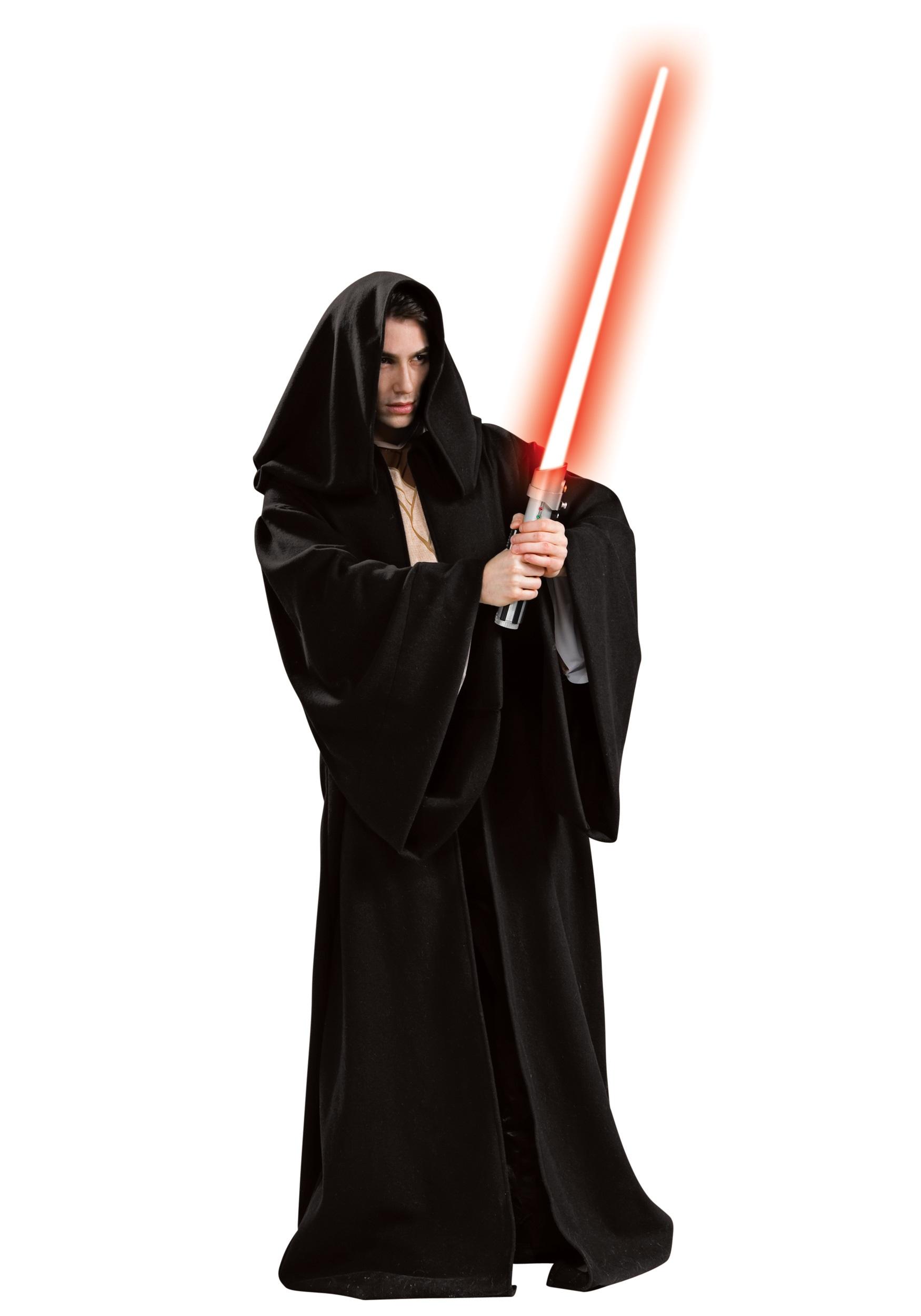 adult deluxe sith robe - halloween costumes