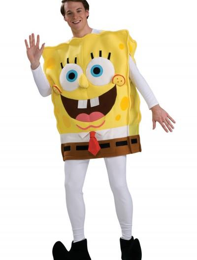 Adult Deluxe SpongeBob Costume, halloween costume (Adult Deluxe SpongeBob Costume)