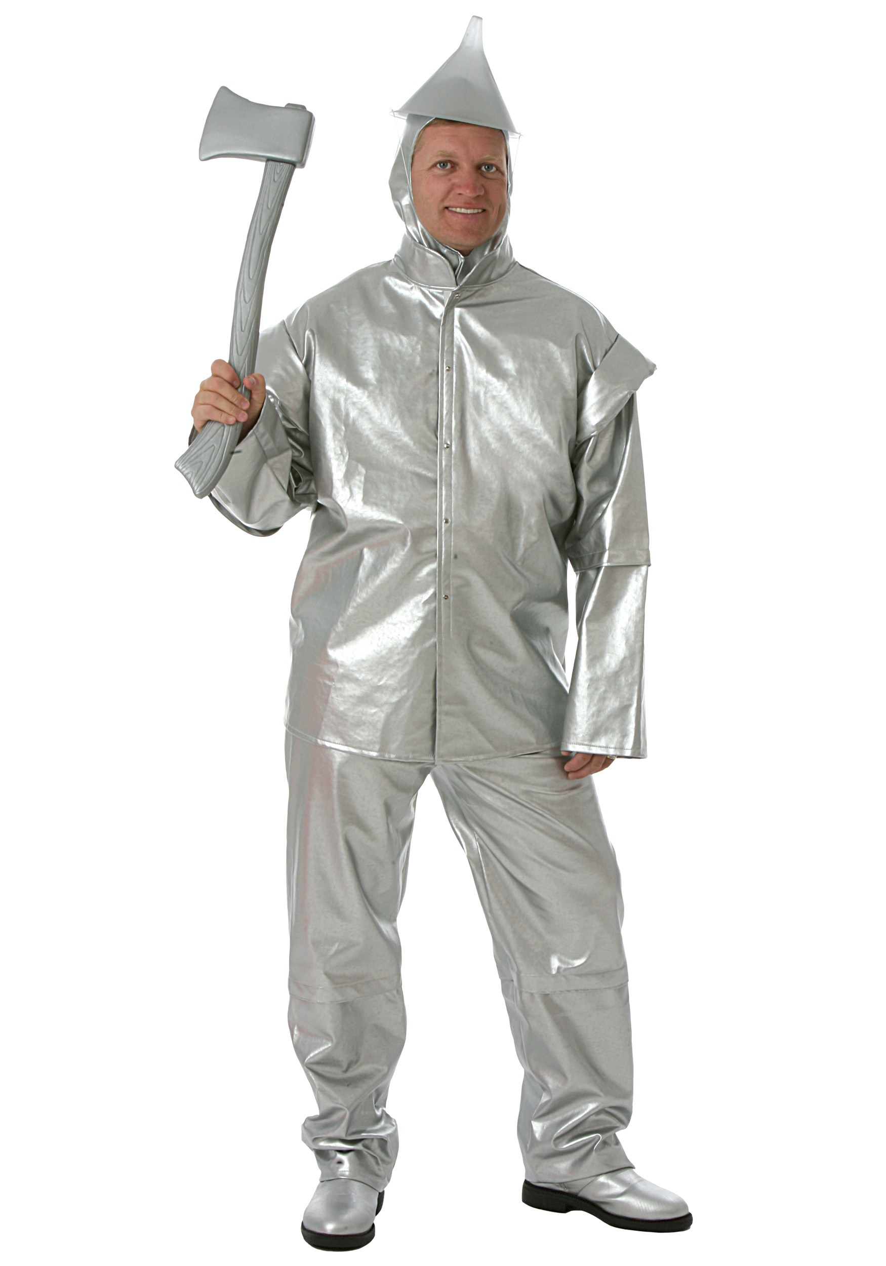 Adult Deluxe Tin Woodsman Costume - Halloween Costumes