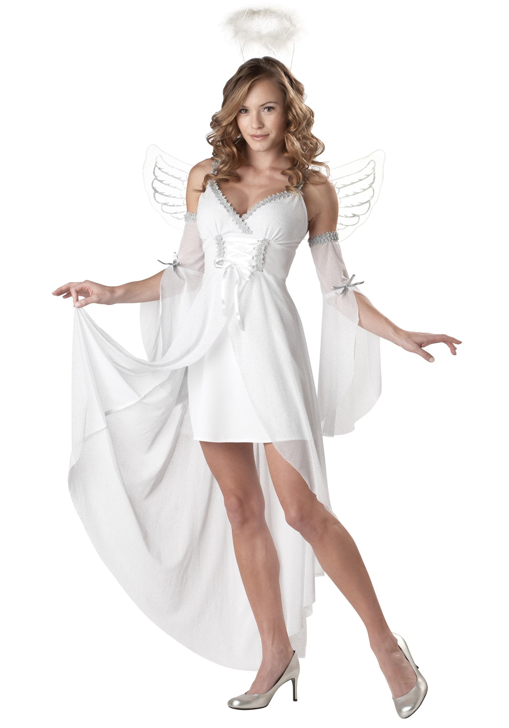 Костюм ангела для взрослых своими руками