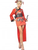 Adult Dragon Lady Geisha Costume, halloween costume (Adult Dragon Lady Geisha Costume)