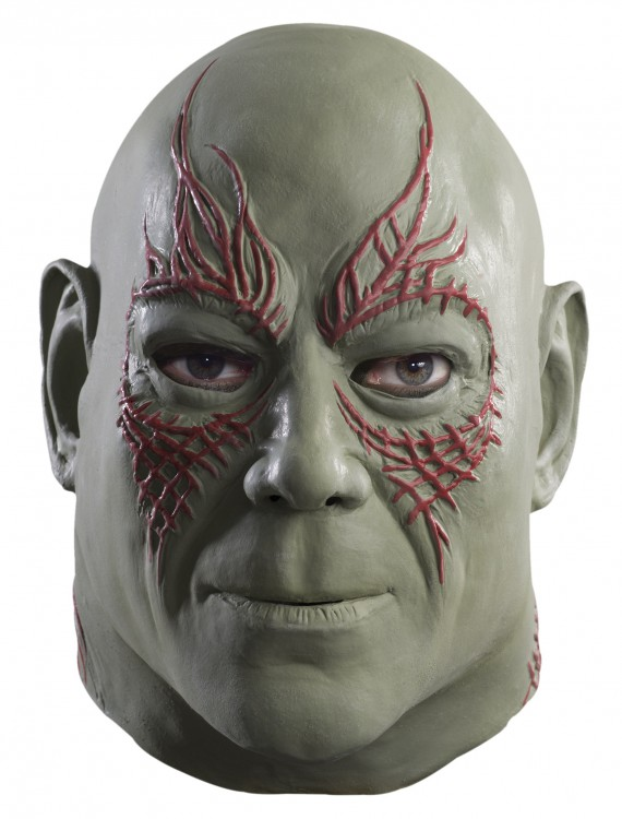 Adult Drax Overhead Mask, halloween costume (Adult Drax Overhead Mask)