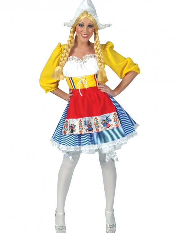 Adult Dutch Woman Costume, halloween costume (Adult Dutch Woman Costume)