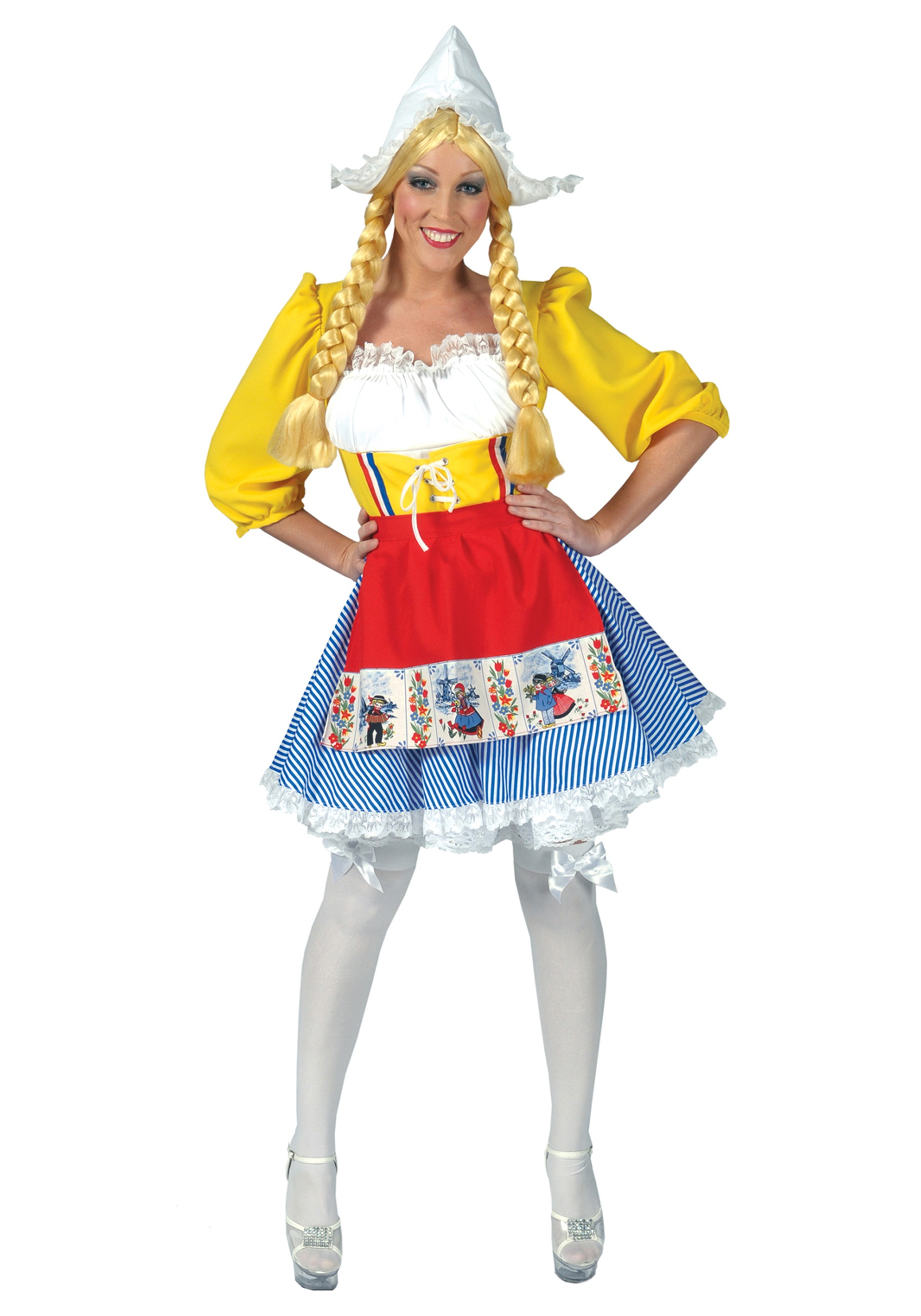 Adult Dutch Woman Costume  sc 1 st  Halloween Costumes : dutch maid costume  - Germanpascual.Com