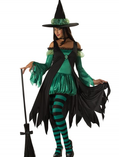 Adult Emerald Witch Costume, halloween costume (Adult Emerald Witch Costume)