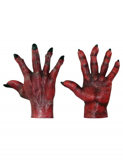 Adult Evil Red Hands, halloween costume (Adult Evil Red Hands)