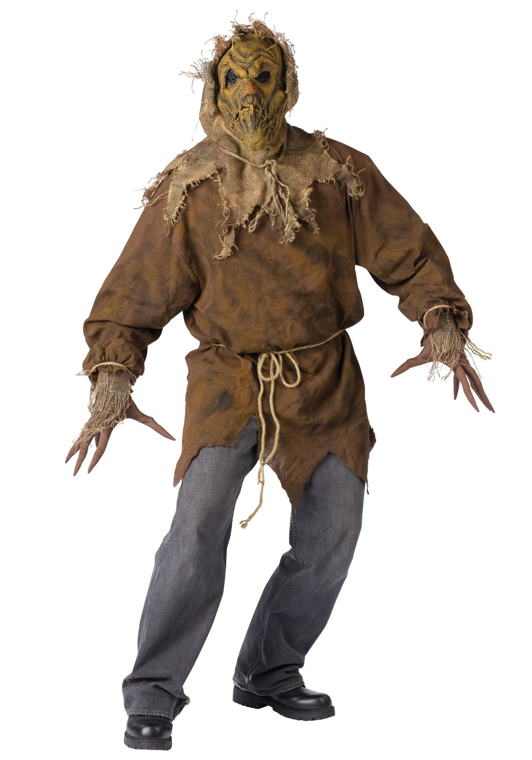 adult evil scarecrow costume - halloween costumes