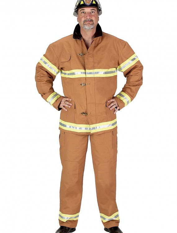 Adult Firefighter Costume, halloween costume (Adult Firefighter Costume)