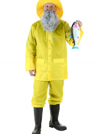 Adult Fisherman Costume, halloween costume (Adult Fisherman Costume)