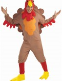 Adult Fleece Turkey Costume, halloween costume (Adult Fleece Turkey Costume)
