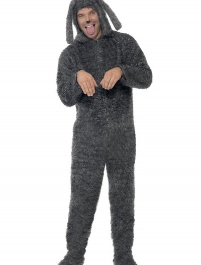 Adult Fluffy Dog Costume, halloween costume (Adult Fluffy Dog Costume)